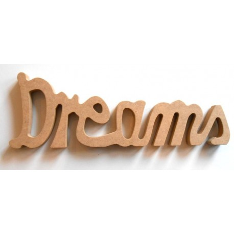 Dreams - Napis